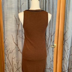 Nanette Lepore Dresses - Nanette Lepore S Vanity Dress Brown wool sheath